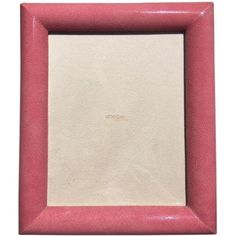 Rose Shagreen Frame ($350) ❤ liked on Polyvore featuring home, home decor, frames, picture frames, handmade home decor, handmade frames, rose picture frames, rose home decor and rose frames