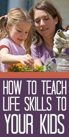 10 Best Life Skills To Teach Children
