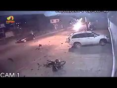 Terrifying Road Accident Caught On Camera | Hyderabad | IndiaNewsToday