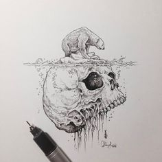 Illustration of the mind. Artist: Kerby Rosanves