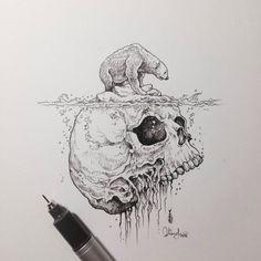 Illustration of the mind. Artist: Kerby Rosanes