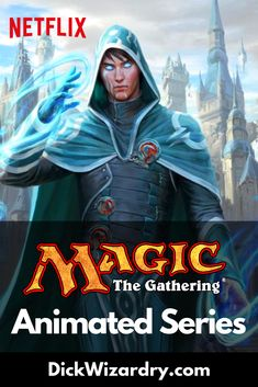 The Magic the Gathering animated series is currently in the works by the Russo brothers. During San Diego Comic-Con this year, They announced some initial details of what we can expect for this animated series that is coming to Netflix. Fantasy Tv Series, San Diego Comic Con, Animation Series, Magic The Gathering, Mtg, Netflix, Nerd Stuff, Comics, Gaming