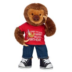 Build a Bear Polar Express Bear with Pajamas and Silver Bell Wristie NWT!