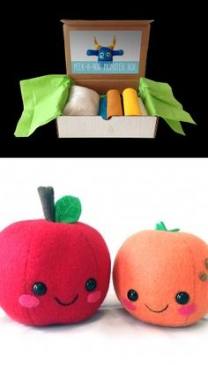 Make Your Own Plushies with Treefort Five Craft Kits #diy
