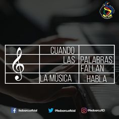 La  musica  inspira  transforma  y  enamora.  #fedoarcu #arte #cultura #RD #musica #literatura #cine #arquitectura #pintura #danza #baile #teatro #ministeriodecultura #fedoarcuRD #belleza #emociones #sensacion #decision #lectura #leer #books #read  #music
