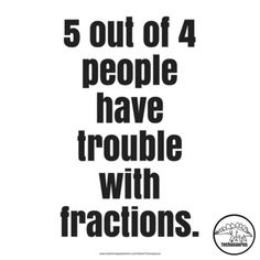 Posters for Math Teachers | 5 out of 4 people have trouble with fractions. Many more math posters to choose from! Math Posters 8.5 x 11 pdf More Math Resources • Statistics and Probability Word Search • Algebra Word Search • Algebra Crossword • Translating Algebraic Expressions Task Cards • Math Posters Earn credits on Teachers Pay Teachers!...