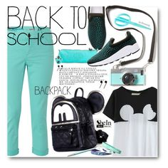 """""""Back To School"""" by beebeely-look ❤ liked on Polyvore featuring White Stuff, Kipling, women's clothing, women's fashion, women, female, woman, misses and juniors"""