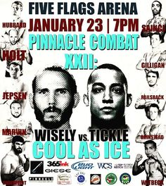 Are you from the #CedarRapids #Iowa area?  You might recognize some of these #PinnacleCombat #MMA fighters! We cannot wait to host you on January 23rd! @combatcaptain #Dubuque #IA #fiveflagscenter #coolasice