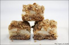 Apple Oat Bars with Dulce de Leche - The Crepes of Wrath