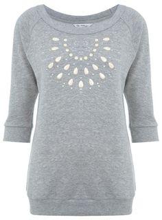Miss Selfridge - Enamel Necklace Sweat