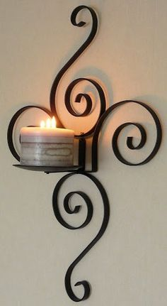 Wrought Iron Special Design Candle Holder / Wrought Iron Special Design Candlestick- Ferforje Özel Tasarım Mumluk / Wrought Iron Special Design Candlestick WhatsApp Support: 0536 920 4926 – 0532 643 3682 E-Mail: - Wrought Iron Decor, Iron Wall Decor, Design Candle Holders, Iron Furniture, Furniture Buyers, Candle Stand, Metal Crafts, Metal Stamping, Home Crafts