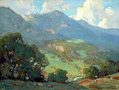 Orrin Augustine White (American 1883-1969,) California plein air painter.