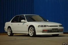 CB7 Honda Accord. Color blended door guards with the paint. That's pretty! Exactly what I plan to do.