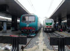 Roteiros da Lu: Andando de trem na Itália
