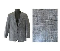 Men Slim Fit Blazer Slim Fit Jacket Slim Fit by TheVilleVintage, $69.00