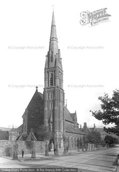 Barrow-In-Furness, Catholic Church 1895 St Mary's Barrow In Furness, Days Out, Old Photos, Catholic, Island, Building, Pictures, Travel, Old Pictures