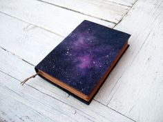 handmade notebook - cosmos