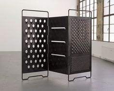 Mona Hatoum--(What a neat room-divider, this would make)