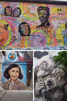 Berlin est une des capitales du street art. Et tout visite de la ville ne serait pas vraiment complète sans la découverte de son streetart! Yarn Bombing, Street Art, Berlin City, Trips, Europe, Blog, Painting, Germany Travel, Ephemeral Art