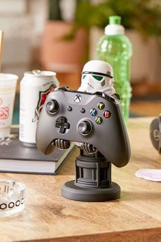 Shop Cable Guys Stormtrooper Device Holder at Urban Outfitters today. We carry all the latest styles, colors and brands for you to choose from right here. 17 Kpop, Star Wars Room, 3d Printing Diy, Christmas Gifts For Husband, Christmas Presents, Holiday Gifts, Christmas Ideas, Video Game Rooms, Gaming Room Setup