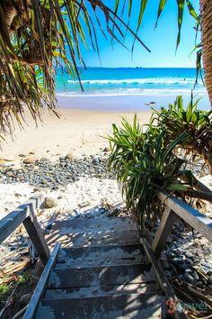 Wategos Beach, Byron Bay, NSW, Australia - I miss the beautiful beaches of home! Outback Australia, Australia Travel, South Australia, Places To Travel, Places To Go, Byron Bay Beach, Australian Beach, The Beach, Belle Villa