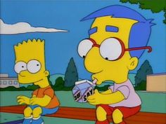 The Simpsons - Bart & Milhouse - Kindergarden