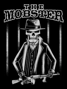 The Mobster by inkcorf , via Behance