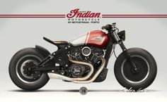 Indian Scout Design For Motostrada
