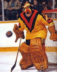 7749265d3a7 JOHN GARRETT Vancouver Canucks Goalie 8x10 NHL Photo