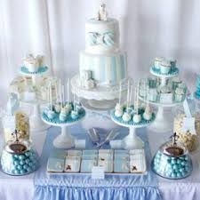 ideas baby boy baptism decorations christening first communion for 2019 Christening Dessert Table, Christening Themes, Christening Party, Baptism Party, Baptism Ideas, Baptism Decorations, Party Decoration, Baby Boy Christening Decorations, Baby Shower Winter