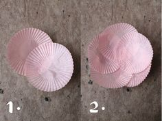 giochi di carta: giochi di carta #27 baking cups flower diy Diy Flowers, Paper Flowers, Flower Diy, Cupcake Liner Crafts, Cupcake Liners, How To Make Decorations, Baking Cups, Baby Party, Diy Projects To Try