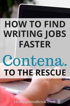 Many freelancers want to find writing jobs to pitch. Contena collects all writing jobs in one place, for easier access and less time spent on wild-Google-goose-chases.