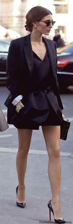 Olivia Palermo, classic womens fashion style icon. Beautiful clothes, everything looks stylish on her...