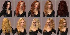Mod The Sims - .:3D colour Boost:. Helga recolor / binned / 10 shades