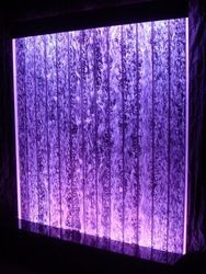 This floor standing bubble wall fountain is 8 ft x 4 ft and includes color changing LEDs. Contact us today to get started on your custom bubble panel project. Indoor Waterfall Fountain, Cat Water Fountain, Indoor Water Fountains, Indoor Fountain, Wall Fountains, Fountain Ideas, Bubble Tanks, Bubble Wall, Tabletop Fountain