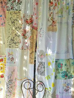 Hippie Retro Tie Dye Hippie Red Orange Teal Teen Handcrafted Curtain Valance NEW