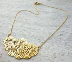 Yacht necklace by Shlomit Ofir Jewelry Design