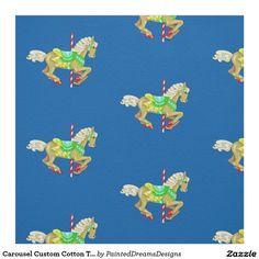 "Carousel Custom Cotton Twill (58"" width) Fabric"