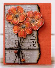 IC361 Flowers by Biggan - Cards and Paper Crafts at Splitcoaststampers: