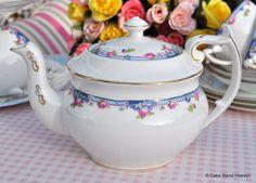 Paragon Star China antique teapot