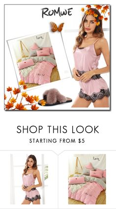 """""""ROMWE 10"""" by umay-cdxc ❤ liked on Polyvore"""
