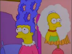 Marge imagines being bald like Homer