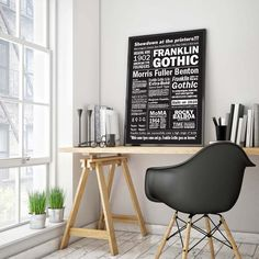 Lica Eugen Franklin Gothic Poster Presentation Mockup