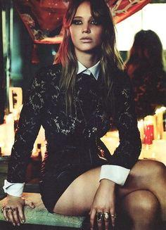 Beautiful People: Jennifer Lawrence.