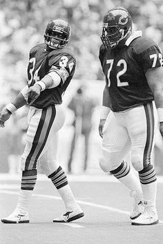 "walter ""sweetness"" payton - william ""refrigerator"" perry"