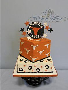 Longhorns Cake Decorations