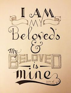 Thoughts on Books: You are Beloved...