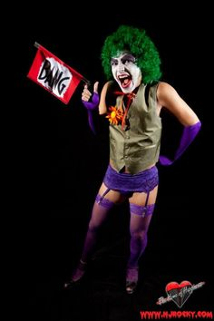 This Is What Happens When The Rocky Horror Picture Show Crosses Over With DC Comics [Cosplay]