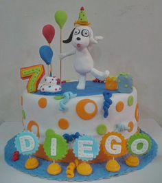 #Doki... Elmo, Country Of Origin, Cakes, Desserts, Ideas, Food, Themed Cakes, Ornaments, Party