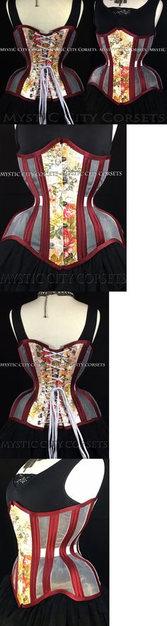 157a08a127 Corsets and Bustiers 11522  New Mcc110 Mesh Satin Underbust Steel Boned  Corset Waist Training Mystic City -  BUY IT NOW ONLY   99 on eBay!